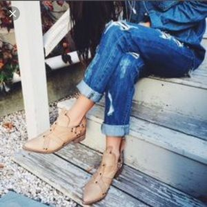 Free people x Matisse coconuts Sydney boot harness